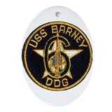 USS BARNEY Ornament (Oval)