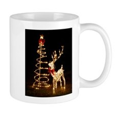 Lighted Reindeer Mug