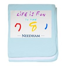 Needham baby blanket