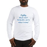 Agility Fun Long Sleeve T-Shirt
