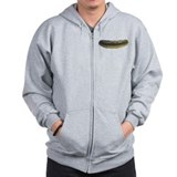 Solitary Pickle Zipped Hoody