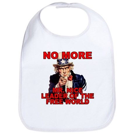 No More Mr. Nice Guy Bib