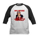 No More Mr. Nice Guy Kids Baseball Jersey
