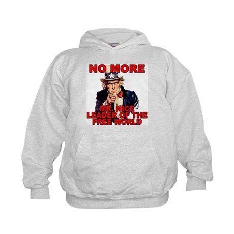 No More Mr. Nice Guy Kids Hoodie