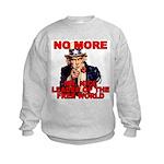 No More Mr. Nice Guy Kids Sweatshirt