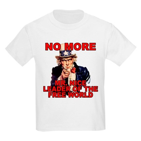 No More Mr. Nice Guy Kids T-Shirt