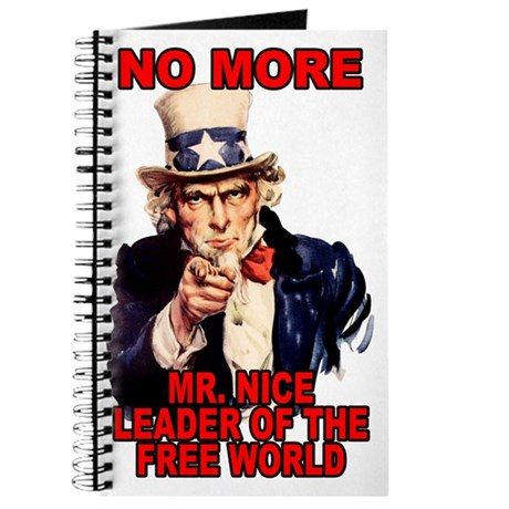 No More Mr. Nice Guy Journal