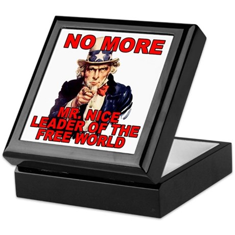 No More Mr. Nice Guy Keepsake Box