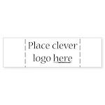 Cheap Logo Bumper Sticker