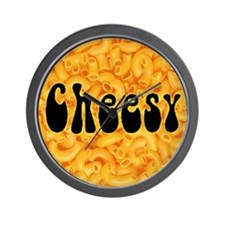 Cheesy Mess Wall Clock