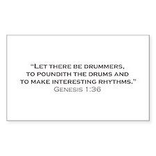 Drummer / Genesis Bumper Stickers
