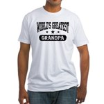 World's Greatest Grandpa Fitted T-Shirt