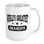 World's Greatest Grandpa Large Mug