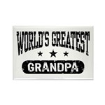 World's Greatest Grandpa Rectangle Magnet