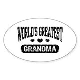 World's Greatest Grandma Decal