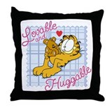 Lovable & Huggable Throw Pillow