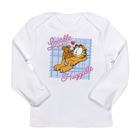Lovable & Huggable Long Sleeve Infant T-Shirt