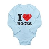 I (Heart) Roger Onesie Romper Suit