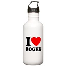 I (Heart) Roger Water Bottle