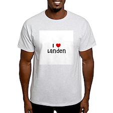 I * Landen Ash Grey T-Shirt
