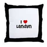 I * Landyn Throw Pillow