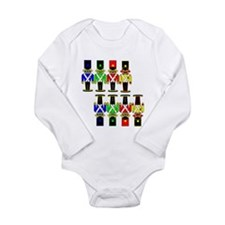 Cute Bill king Long Sleeve Infant Bodysuit
