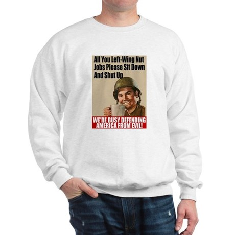 We're Defending America Sweatshirt