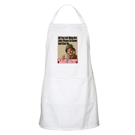 We're Defending America BBQ Apron