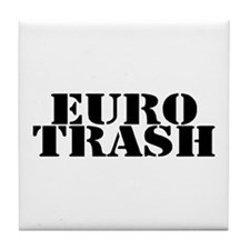 Euro Trash Tile Coaster