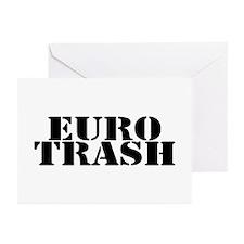 Euro Trash Greeting Cards (Pk of 10)