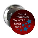 Tennessee Says No To Sarah Palin button