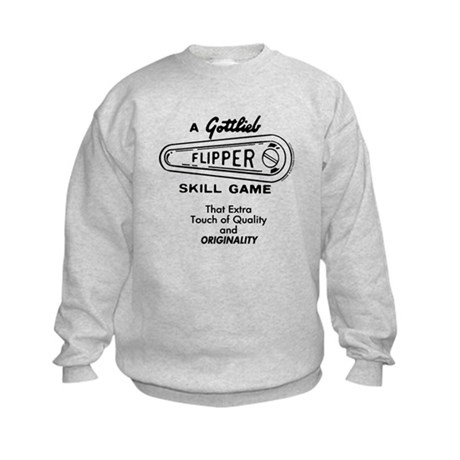 Gottlieb&reg; &quot;Originality&quot; Slogan Kids Sweatshirt
