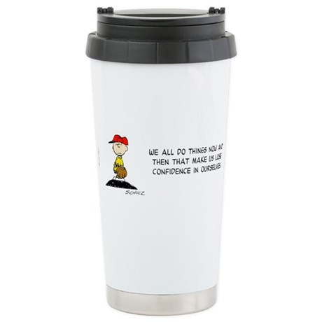 Confidence Ceramic Travel Mug