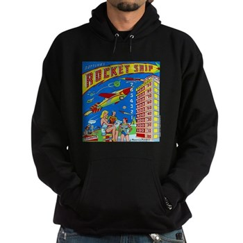 "Gottlieb® ""Rocket Ship"" Hoodie (dark)"