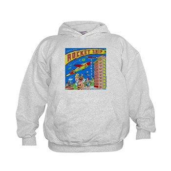 Gottlieb&reg; &quot;Rocket Ship&quot; Kids Hoodie