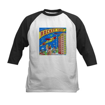 "Gottlieb® ""Rocket Ship"" Kids Baseball Jersey"