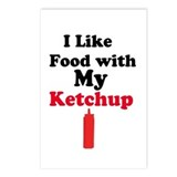 Ketchup Humor 1 Postcards (Package of 8)