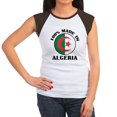 100% Made In Algeria Women's Cap Sleeve T-Shirt