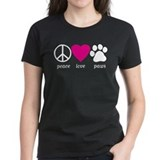 Peace Love Paws Tee