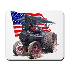 The Advance Steam Traction En Mousepad