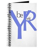 Be Yourself blue Journal