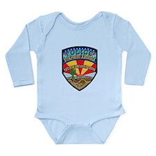 Surprise Police Long Sleeve Infant Bodysuit