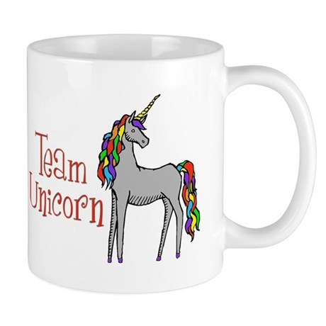 Team Unicorn Rainbow Mug