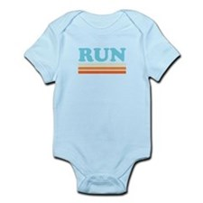 Retro RUN Infant Bodysuit