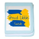 Proud Little Swede baby blanket