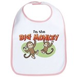 Big Sister - Monkey Bib