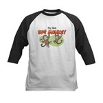 Big Sister - Monkey Kids Baseball Jersey