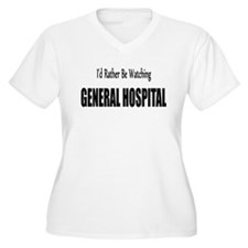 General Hospital Women's Plus Size V-Neck T-Shirt