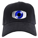 Eye - blue - 01 Baseball Hat