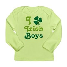 I Love Irish Boys Long Sleeve Infant T-Shirt